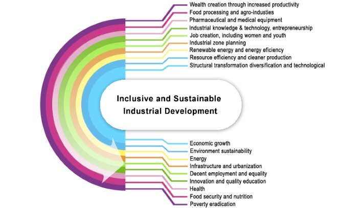UNIDO's long-term strategy of inclusive and sustainable industrial development