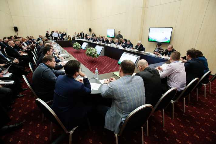 "V All-Russian Congress of Environmental Protection and II International Exhibition-Forum ""ECOTECH"" held in Moscow"