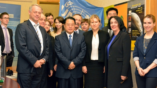 DG and UNIDO Delegation visited the UNIDO Center for International Industrial Cooperation CIIC