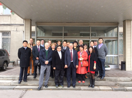 The visit to Moscow of the Chinese delegation of representatives of the Ministry of Environmental Protection and UNIDO Division of the Stockholm Convention