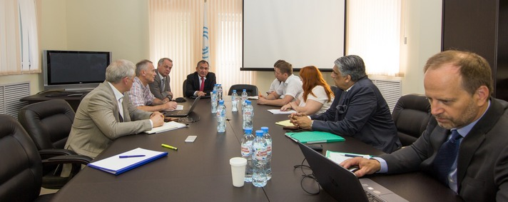 Meeting on the PCB-containing waste issues in Russia